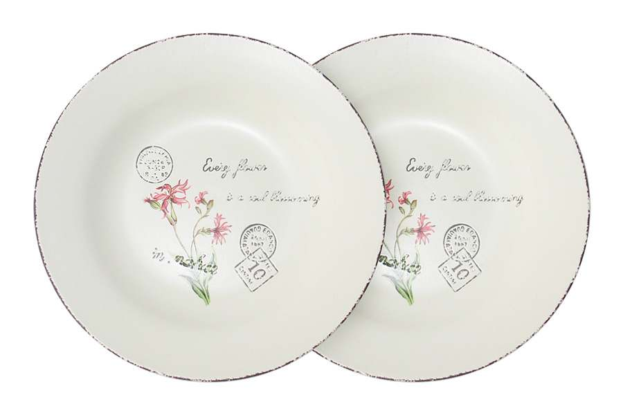 Набор из 2-х суповых тарелок Воспоминания LF Ceramic Китай