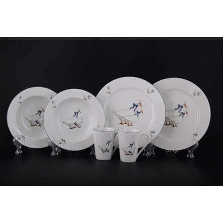 Констанция Гуси Подарочный набор посуды Thun 6 предметов