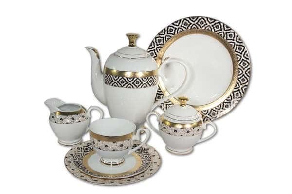 Чайный сервиз Самарканд 42 предмета на 12 персон Midori Китай