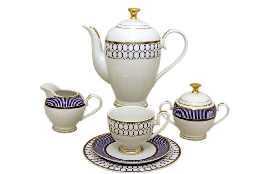 Чайный сервиз Адмиралтейский  23 предмета на 6 персон Midori Китай