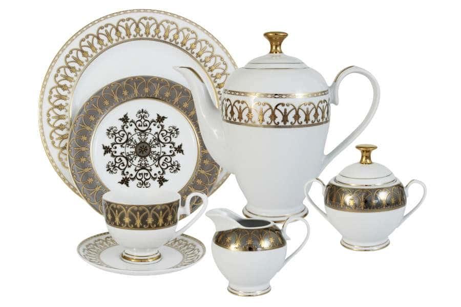 Чайный сервиз Вдохновение 42 предмета на 12 персон Midor Китай