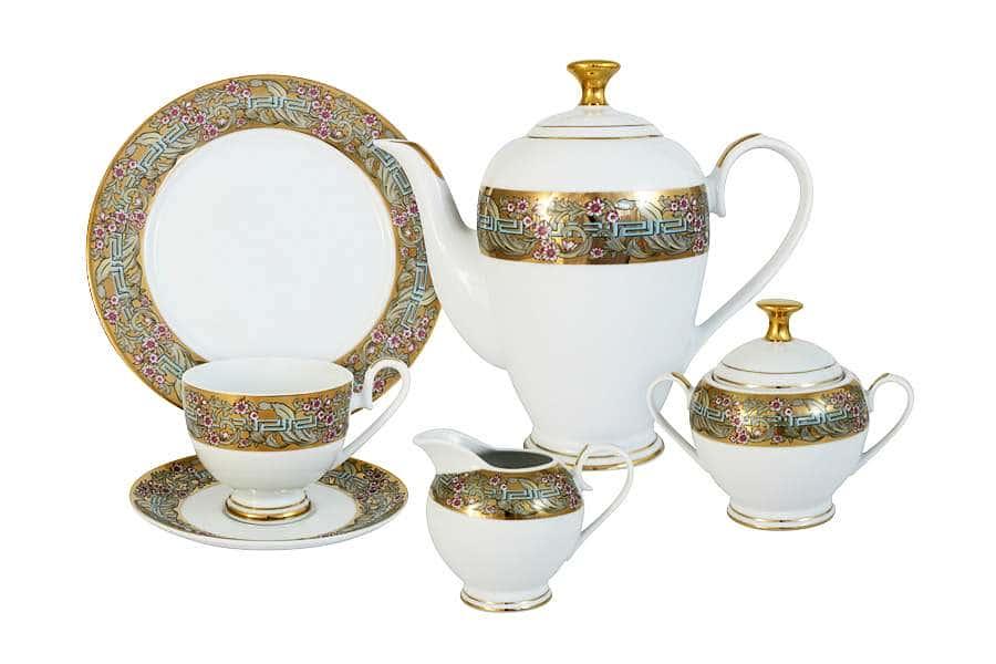 Чайный сервиз Розовый берег 23 предмета на 6 персон Midori Китай