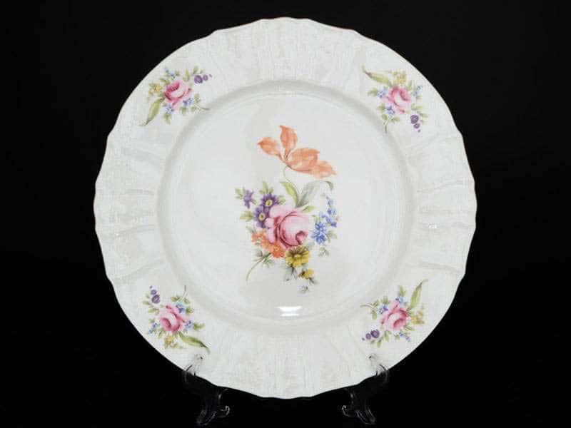 Бернадотт Полевой цветок Блюдо круглое фарфоровое 32 см 1610