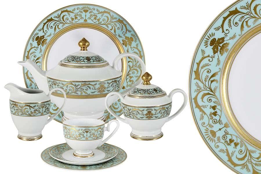 Чайный сервиз 42 предмета на 12 персон Шантильи  Midori  Китай
