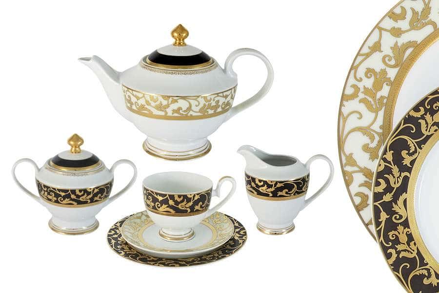 Чайный сервиз Толедо 23 предмета на 6 персон Midori Китай