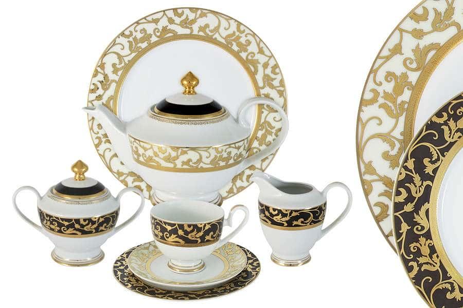 Чайный сервиз Толедо 42 предмета на 12 персон Midori Китай