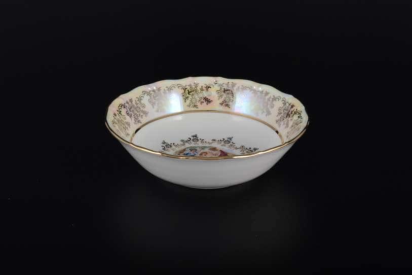 Мадонна Перламутр Набор салатников Royal Czech Porcelain 16 см 6 предметов