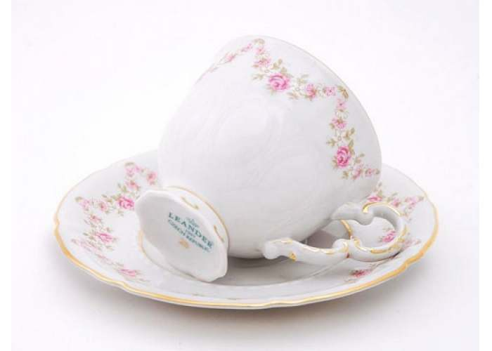 Чашка высокая с блюдцем 0.10 л, Соната, Мелкие цветы