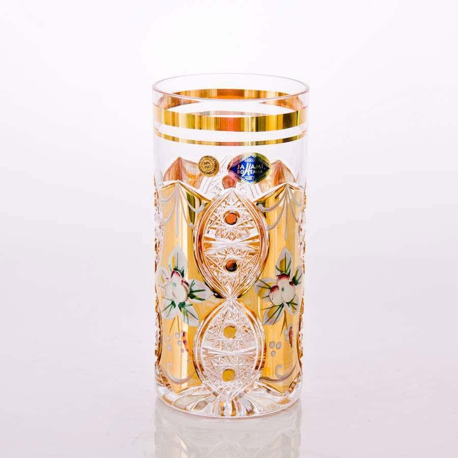 Jahami Золото Набор стаканов для воды 350 мл