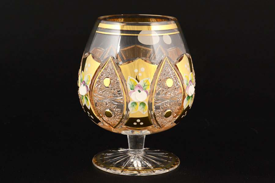 Набор бокалов для бренди 230 мл Jahami Золото