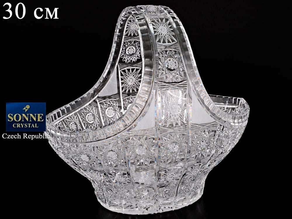 Корзина 30 см Sonne Crystal