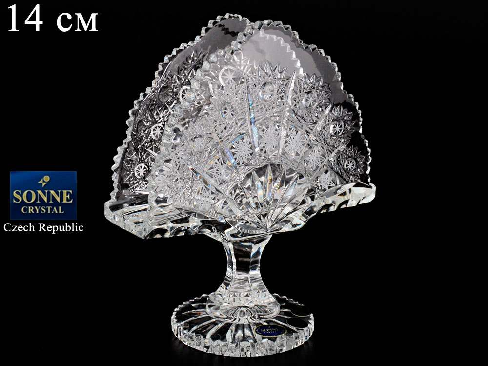 Салфетник Sonne Crystal 14 см на ножке