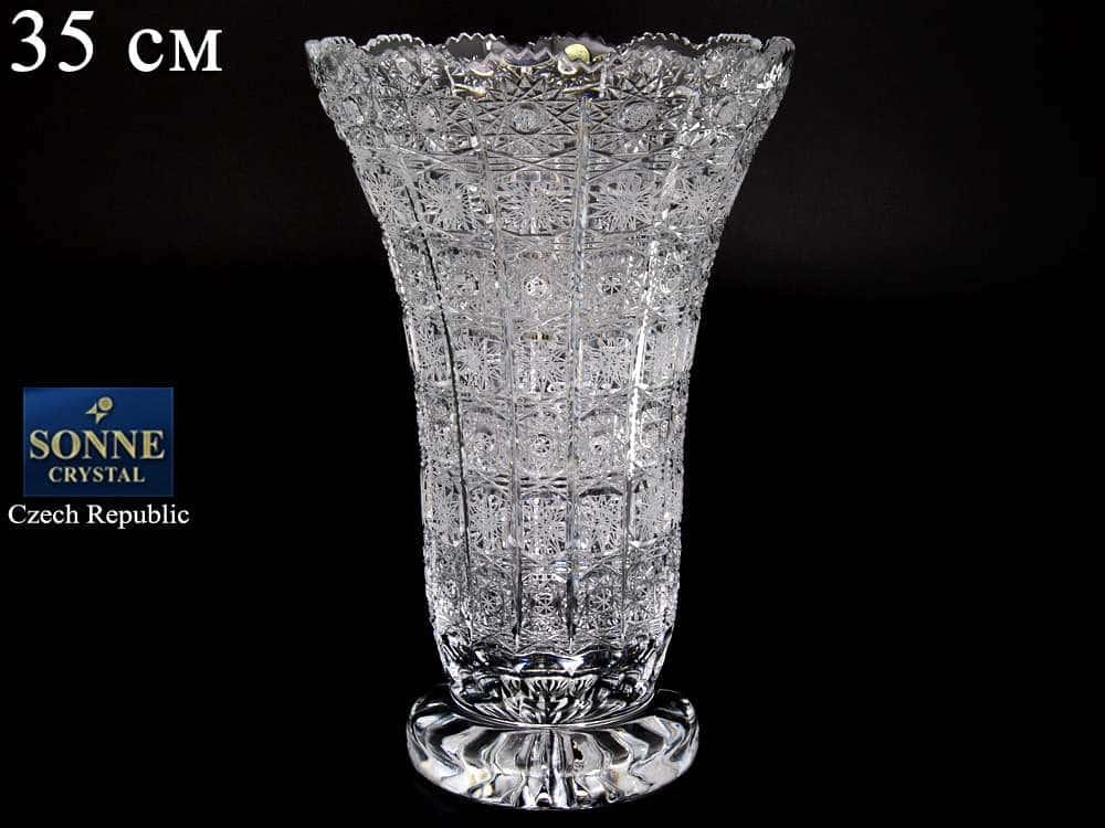 Цветочница 35 см Sonne Crystal