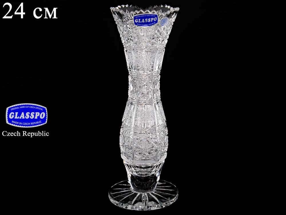 Ваза 24 см Glasspo