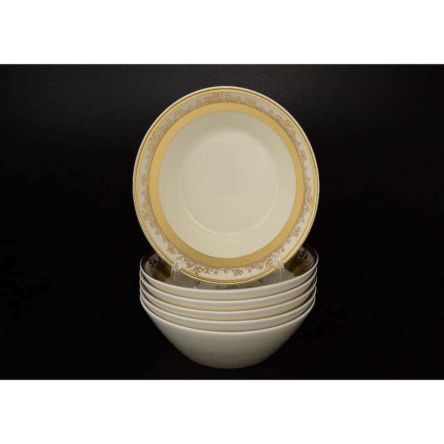 Crem Gold 9320  Набор салатников Falkenporzellan 19 см