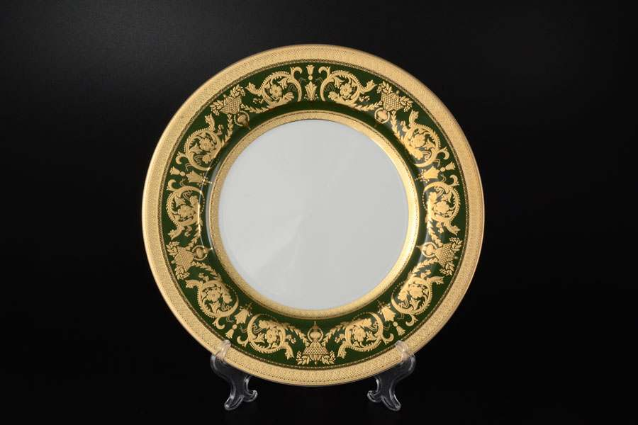 Imperial Green Gold  Набор тарелок Falkenporzellan 27 см