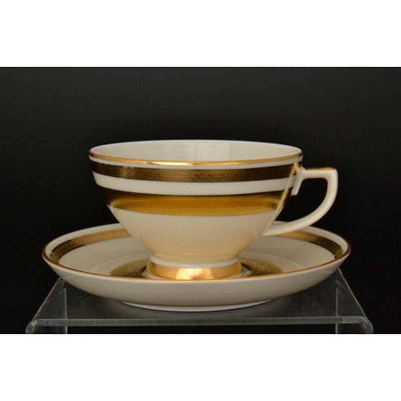 Crem Gold 9321 Набор чайных пар Falkenporzellan 250 мл