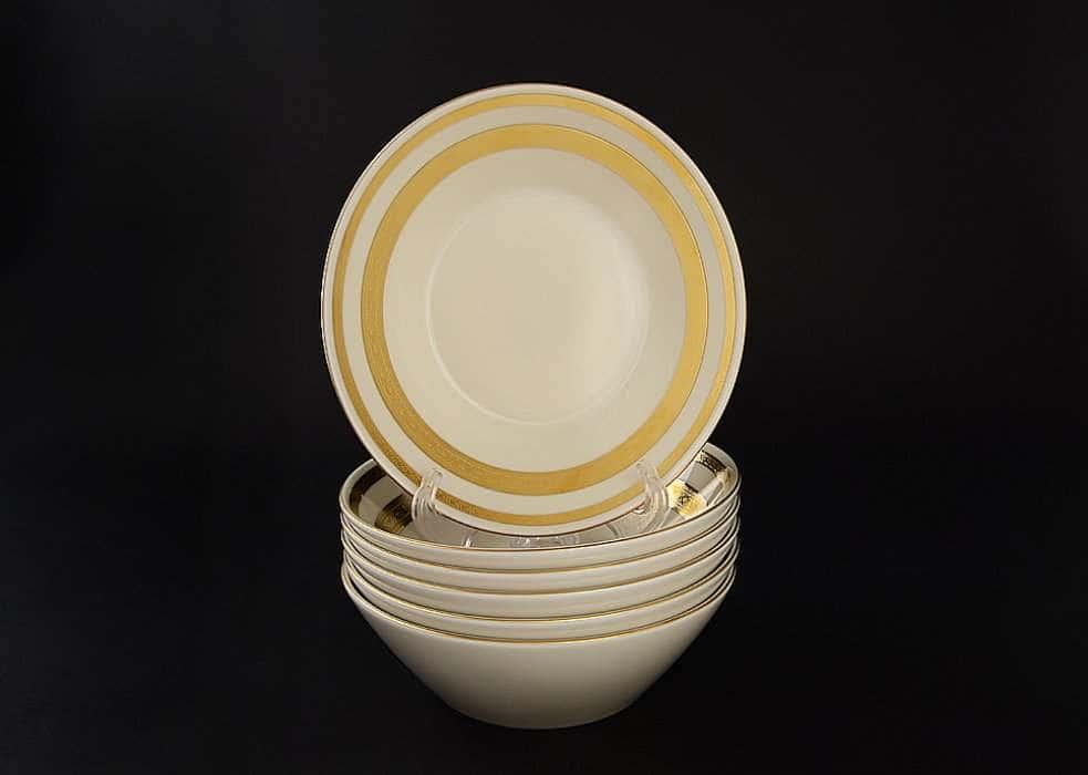 Crem Gold 9321 Набор салатников Falkenporzellan 19 см