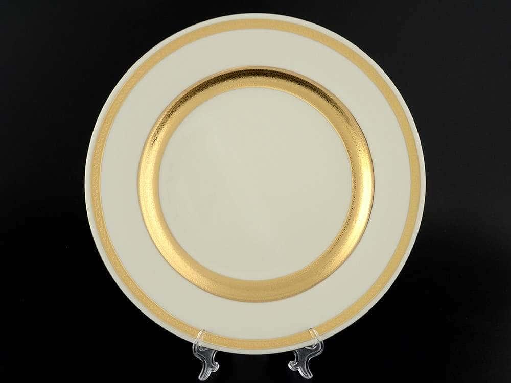 Crem Gold 9321 Блюдо круглое 32 см Falkenporzellan