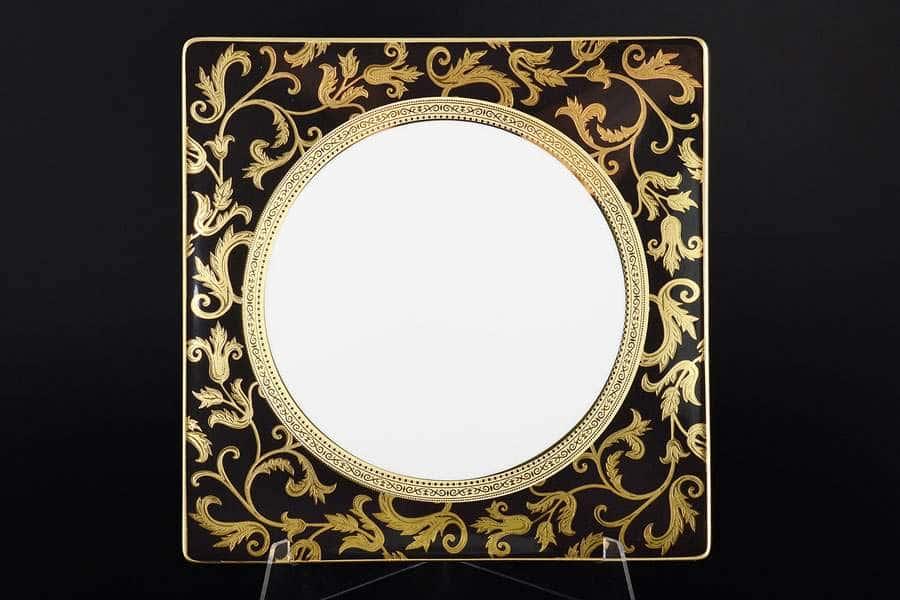 Tosca Black Gold Набор тарелок Falkenporzellan 27 см