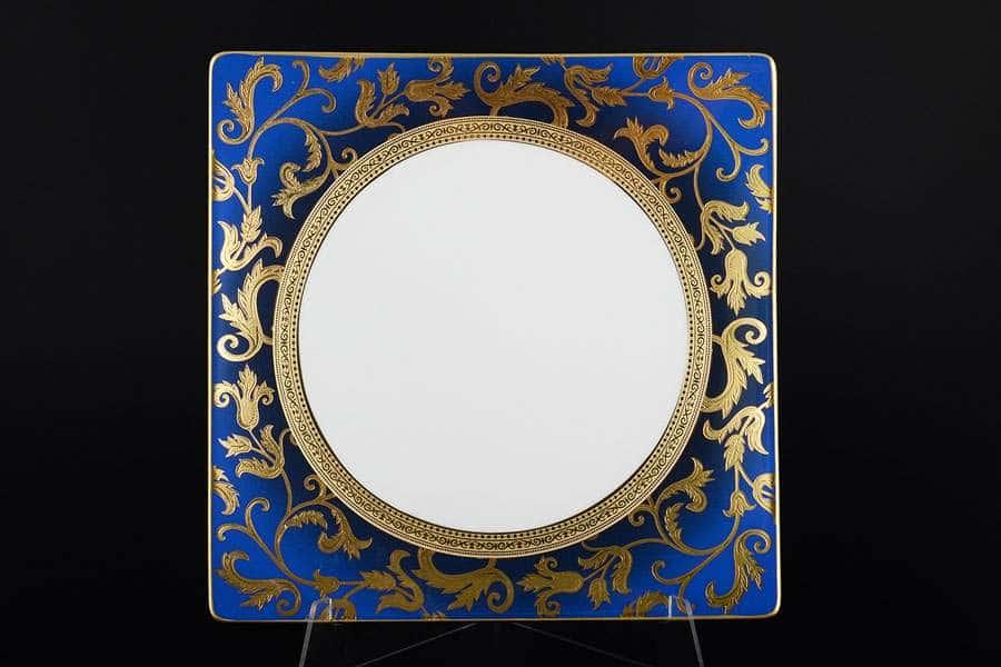 Tosca Blueshade Gold Набор тарелок Falkenporzellan 27 см