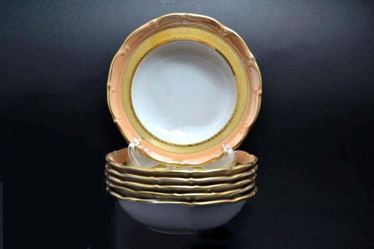Магнолия Золотая полоса Янтарь Салатник MZ 13 см