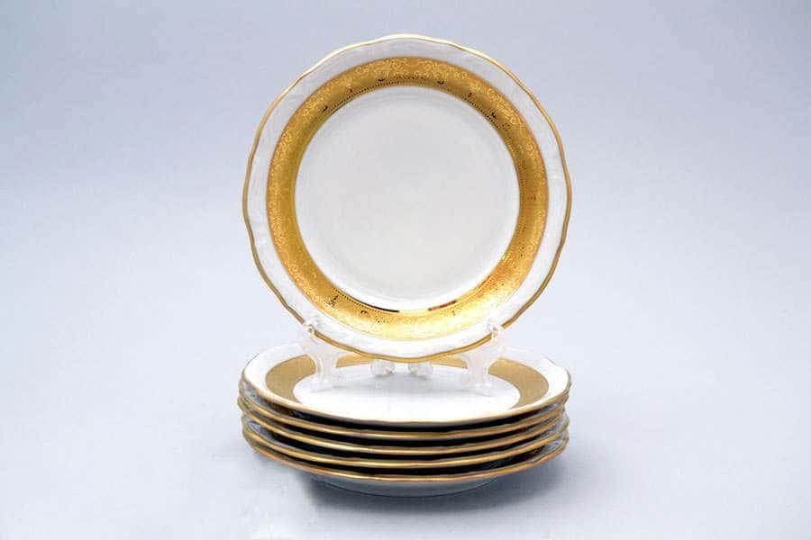 Мария Луиза Матовая полоса Набор тарелок Carlsbad 17 см (6 шт)
