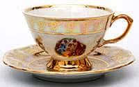 Мадонна Перламутровая Набор для чая на 6 персон 200 мл
