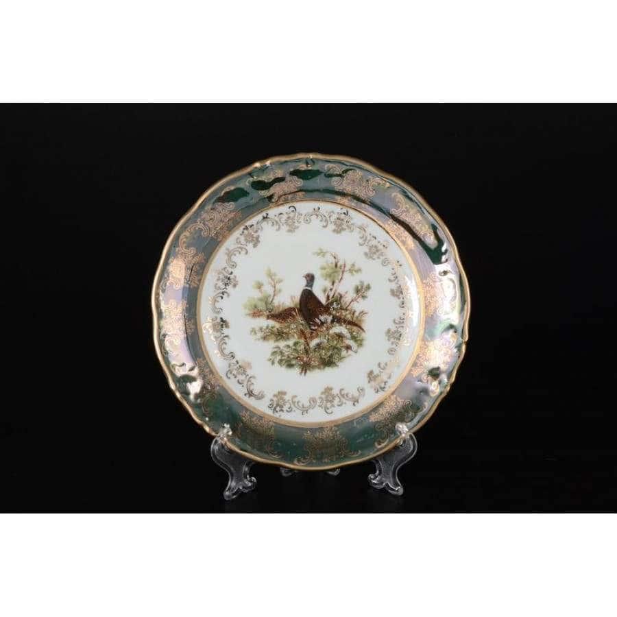 Фредерика Охота Зеленая Набор тарелок Carlsbad 17 см