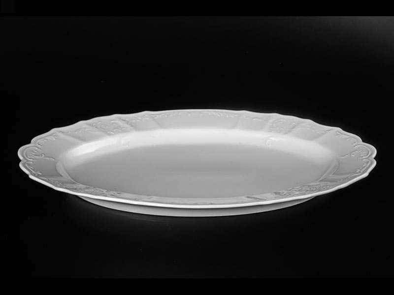 Бернадотт Недекорированный Блюдо овальное 39 см