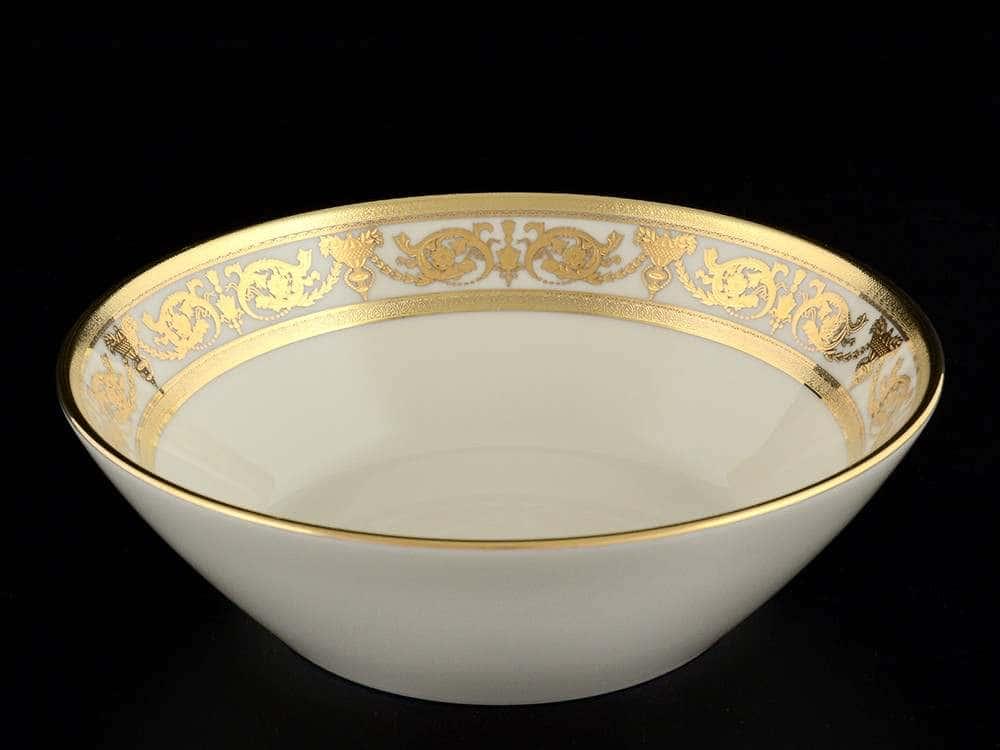 Constanza Crem Imperial Gold Набор салатников Falkenporzellan 19 см