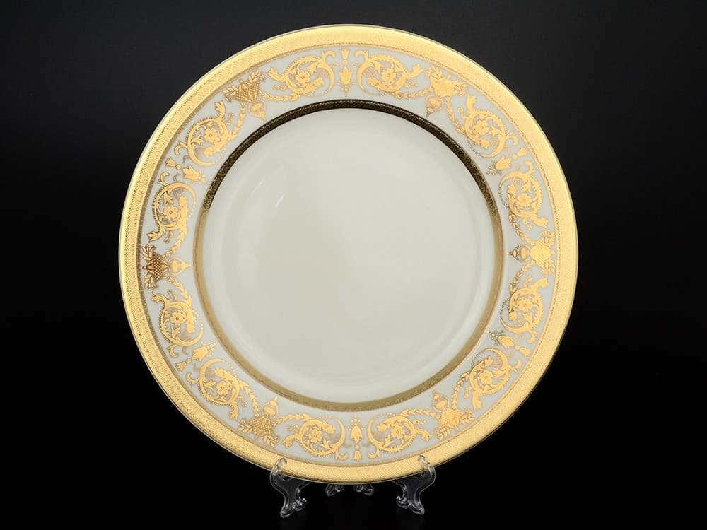 Imperial Crem Gold Блюдо круглое 32 см Falkenporzellan