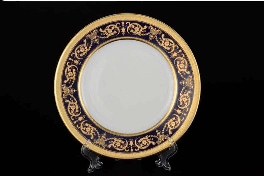 Imperial Cobalt Gold Набор тарелок Falkenporzellan 27 см