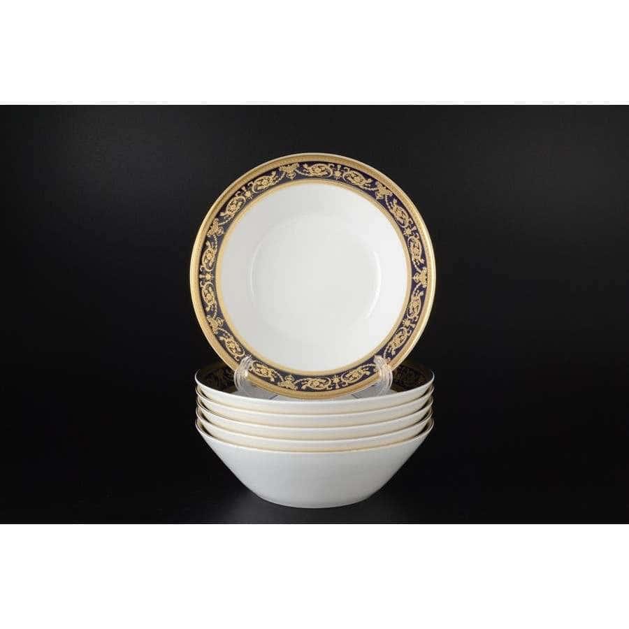 Imperial Cobalt Gold Набор салатников Falkenporzellan 19 см