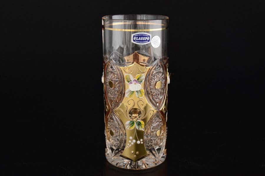 G-P золото Набор стаканов для воды Glasspo 350 мл