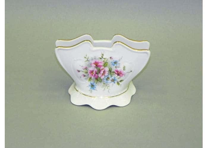 Соната, Розовые цветы, подставка для салфеток 8.5 см