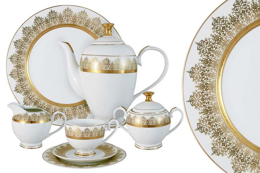 Чайный сервиз 42 предмета на 12 персон Бруней Midori  Китай