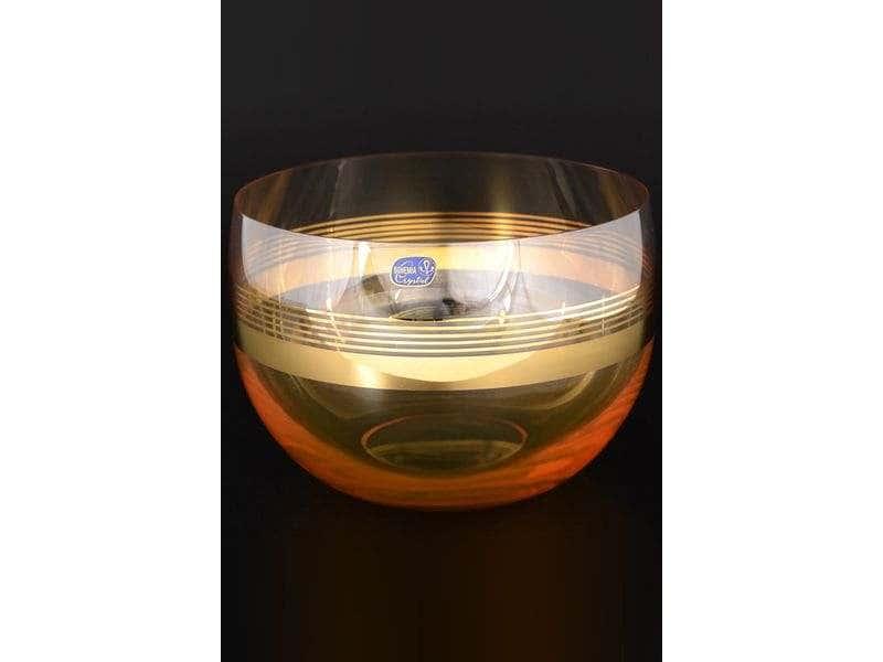 Анжела Салатник Bohemia Crystal 20 см из стекла