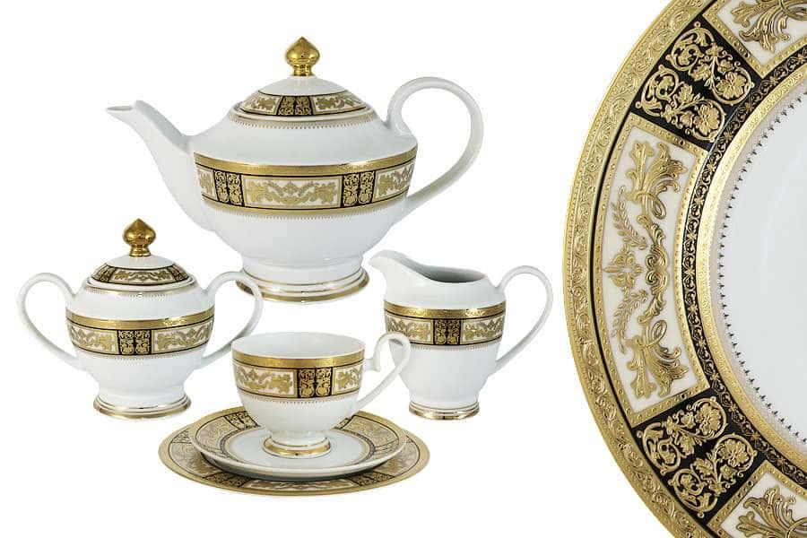 Чайный сервиз Елизавета 23 предмета на 6 персон Midori Китай
