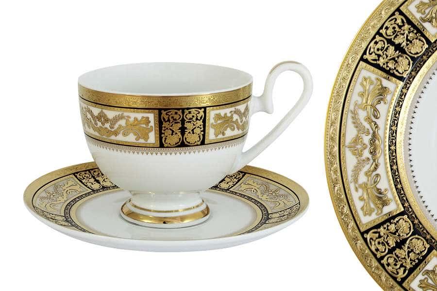 Чашка с блюдцем Елизавета Midori  Китай