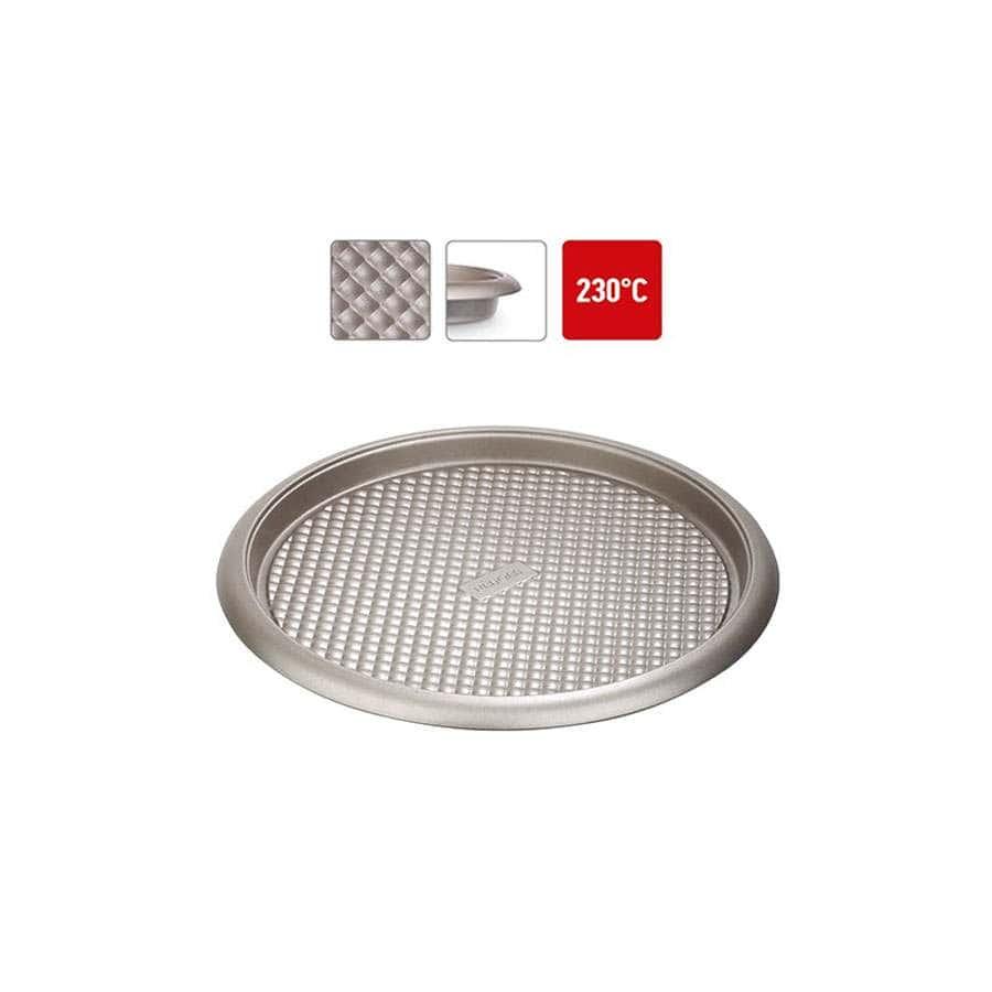 Rada Форма для выпечки круглая стальная антипригарная 26х3,7 см Nadoba