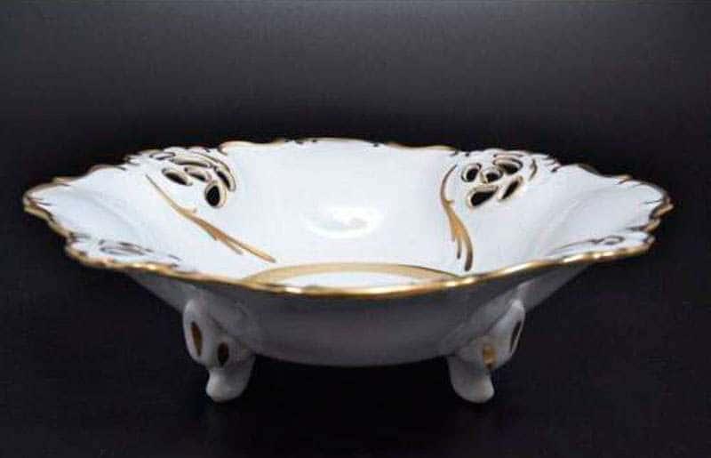 Анжелика Золотая лента  Барбарина из фарфора  MZ 32 см