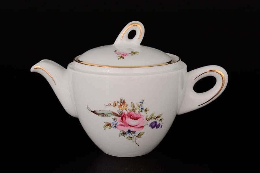 Полевой цветок  Заварочный чайник QC 400 мл из фарфора