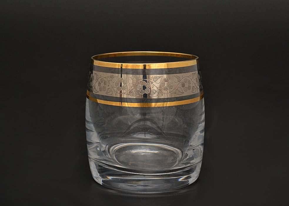 Идеал Панто Платина V-D  Набор стаканов для виски 230 мл