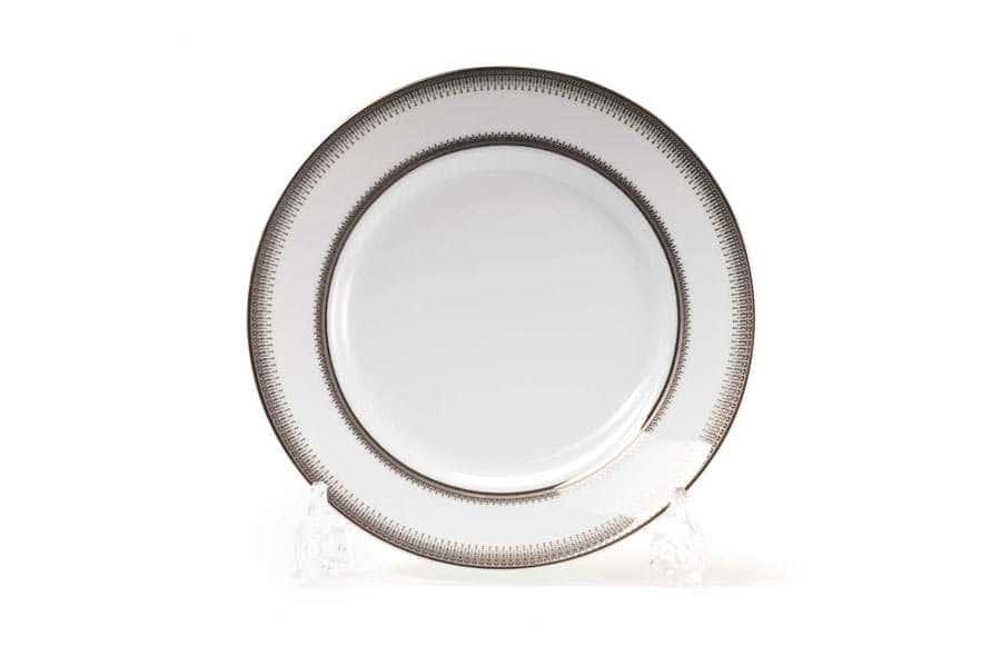 Набор десертных тарелок 19 см 6шт PRINCIER PLATINE 1801 Тунис