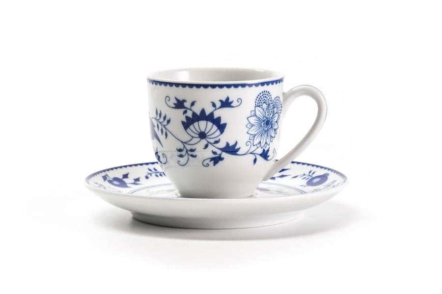 Кофейная пара V 100 мл 5,2 х 6,2 см Ognion Bleu 1313 Тунис