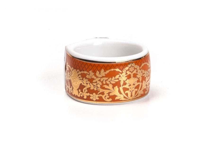 MIMOSA 1642 Кольцо для салфеток Д 4 см Didon Orange Тунис