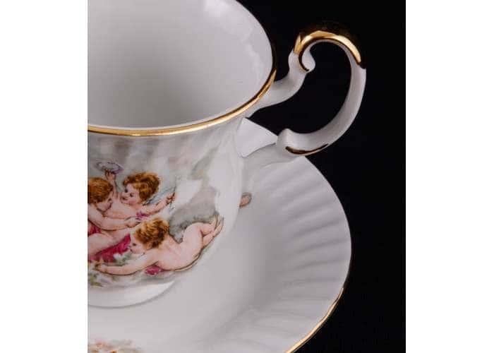 Моника, Сервиз чайный 3 предмета для завтрака, Леандер