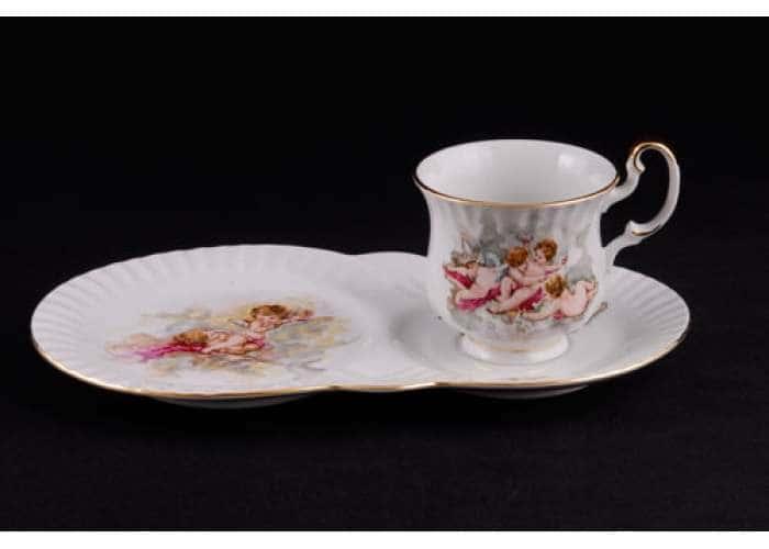 Моника Ангелы, Сервиз чайный 2 предмета для завтрака