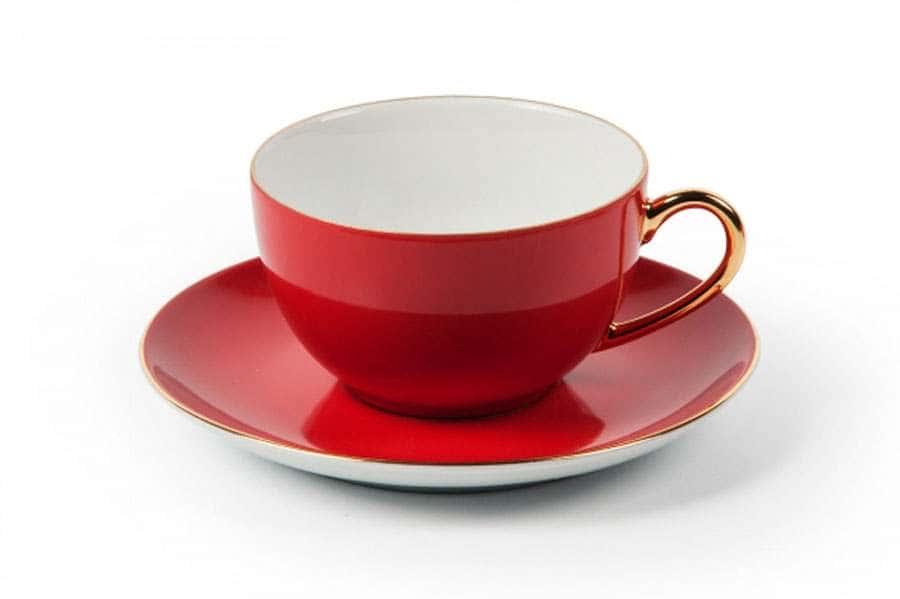 MONALISA 3125 Набор чайных пар 220 мл 6 шт 12 предмета RAINBOW OR Тунис